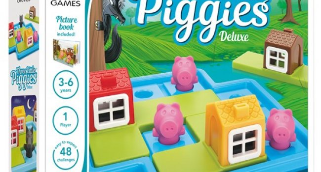 Smart Three Little Piggies