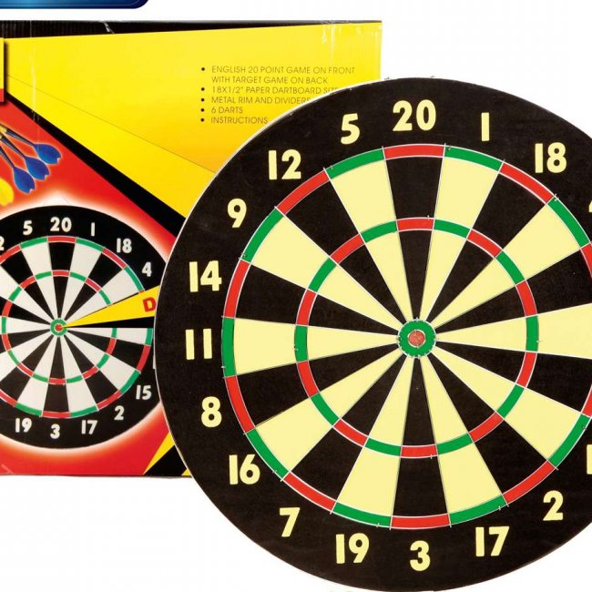 Darts Board Steel Training