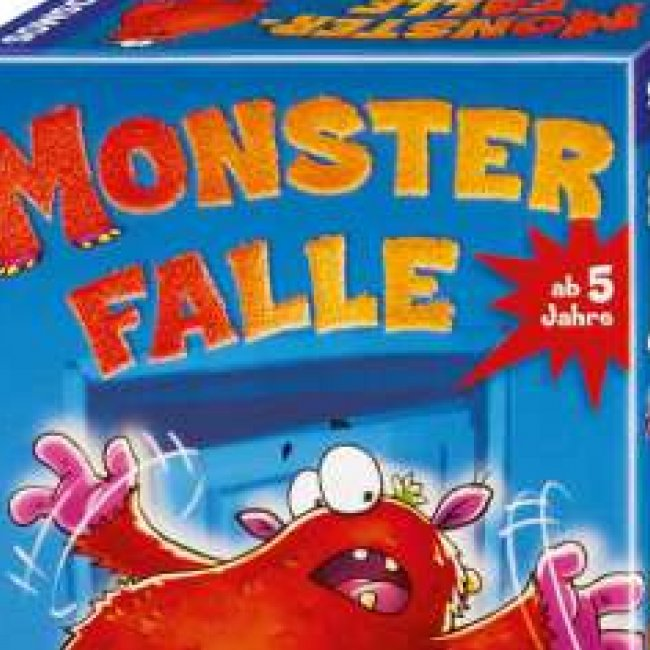Kinderspiel Monsterfalle