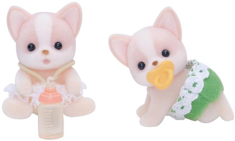 Sylvanian Chicuahua Dog Twins